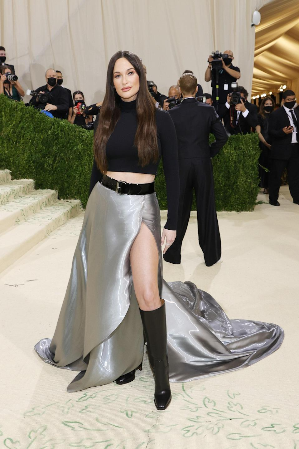 """<h1 class=""""title"""">Kacey Musgraves, The 2021 Met Gala Celebrating In America: A Lexicon Of Fashion - Arrivals</h1><cite class=""""credit"""">Getty</cite>"""