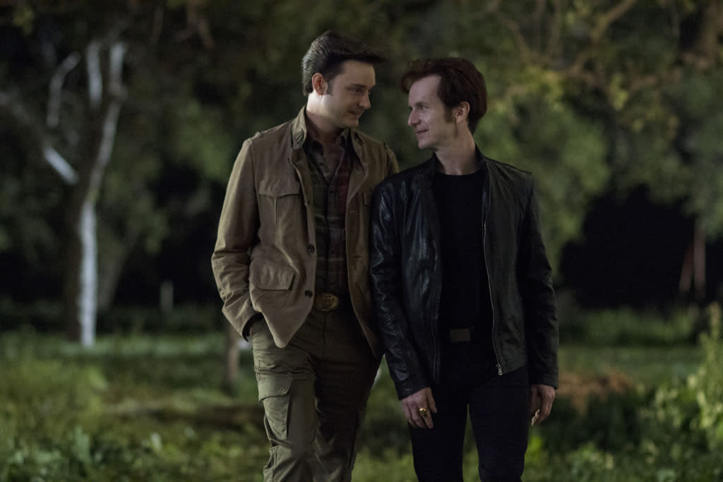 "Michael McMillian and Denis O'Hare in the ""True Blood"" episode, ""Everybody Wants to Rule the World."""