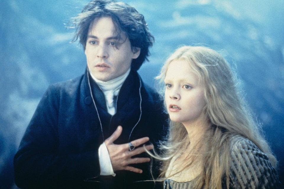 """<p><a class=""""link rapid-noclick-resp"""" href=""""https://www.popsugar.com/Johnny-Depp"""" rel=""""nofollow noopener"""" target=""""_blank"""" data-ylk=""""slk:Johnny Depp"""">Johnny Depp</a> in another Halloween-themed movie? You bet. <strong>Sleepy Hollow</strong> reinvents Washington Irving's <strong>The Legend of Sleepy Hollow</strong> with added twists, turns, and a cast full of unsettling characters. </p> <p><a href=""""https://www.amazon.com/Sleepy-Hollow-Johnny-Depp/dp/B000LGOPW2/ref=sr_1_1?dchild=1&amp;keywords=sleepy+hollow&amp;qid=1632279540&amp;s=instant-video&amp;sr=1-1"""" class=""""link rapid-noclick-resp"""" rel=""""nofollow noopener"""" target=""""_blank"""" data-ylk=""""slk:Watch Sleepy Hollow on Amazon Prime Video"""">Watch <strong>Sleepy Hollow</strong> on Amazon Prime Video</a>.</p>"""