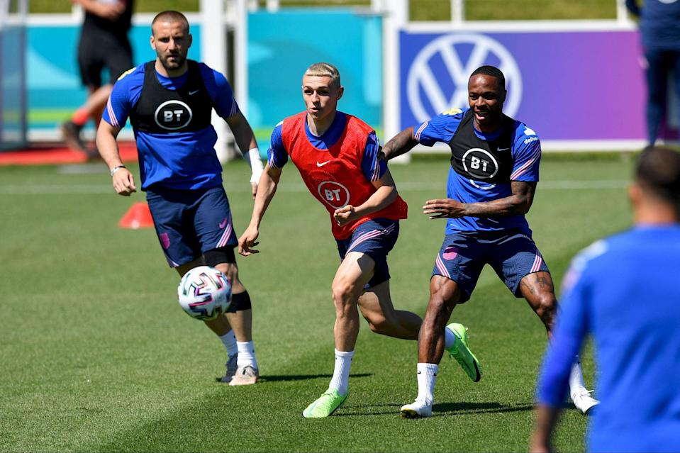 England's vibrant attack, spurred on by home advantage, has the best chance at a tournament since Euro 96 — so long as the defence holds strong (AFP via Getty Images)