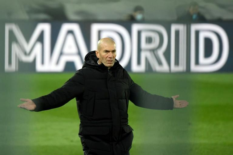 Lack of faith: Zinedine Zidane said he did not believe he had the support of Real Madrid