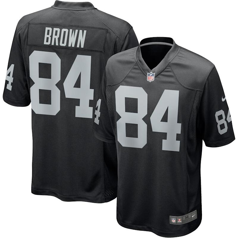 Antonio Brown Oakland Raiders Nike Game Jersey – Black