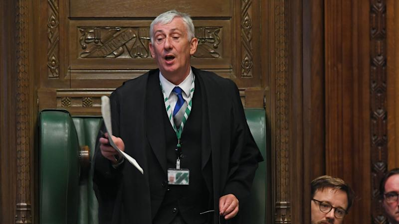 Angry Speaker threatens to run Hancock 'ragged' over 'total disregard' for MPs