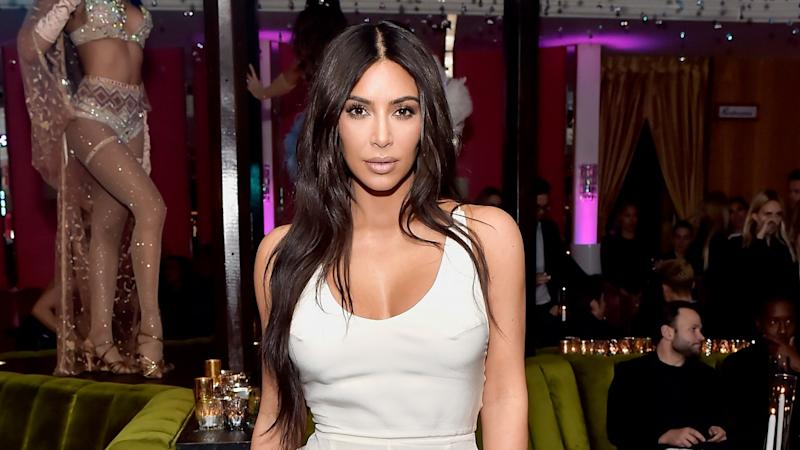 Kim Kardashian Goes All-Out for 20-Year High School Reunion -- See the Pics!