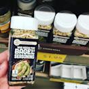 """<p>""""We see you, Trader Joe's,"""" is what we imagine Aldi said when they unveiled their own everything bagel seasoning. Who can blame them? TJ's take was an instant smash, so Aldi naturally wanted in on the garlicky, oniony goodness. What this means is that you don't have to make two stops shopping: Get all your favorites at Aldi, plus the everything bagel seasoning you need to make literally everything taste better. </p>"""