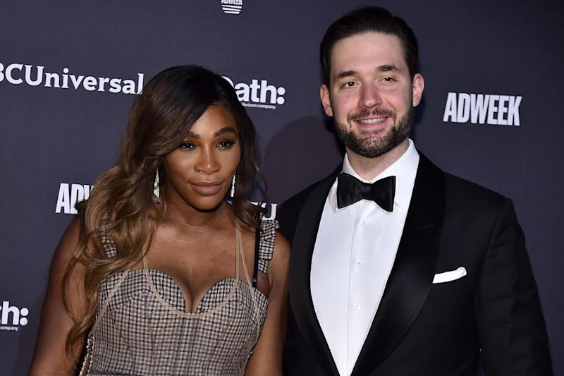 Serena Williams and Alexis Ohanian (Getty Images)
