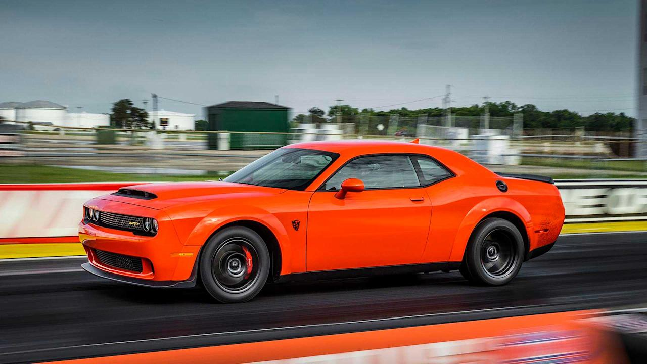 "<p>By the numbers, there still isn't a quicker production car in the world than the <a href=""https://uk.motor1.com/dodge/challenger-srt-demon/"">Dodge Challenger Demon</a>, at least in the quarter-mile. In reality, we've yet to see video of a Demon actually nabbing that elusive 9.65-second time, but we have seen it beaten by the <a href=""https://uk.motor1.com/mclaren/720s/"">McLaren 720S</a>.</p><h2>Power up</h2><ul><li><a href=""https://uk.motor1.com/news/369264/musk-tesla-porsche-turbo-taycan/?utm_campaign=yahoo-feed"">Tesla to tackle Taycan time on Nurburgring after Musk mocks 'Turbo'</a></li><br><li><a href=""https://uk.motor1.com/news/365623/drako-gte-revealed-ev-hypercar/?utm_campaign=yahoo-feed"">2020 Drako GTE revealed as stunning 206-mph EV hypercar</a></li><br></ul>"