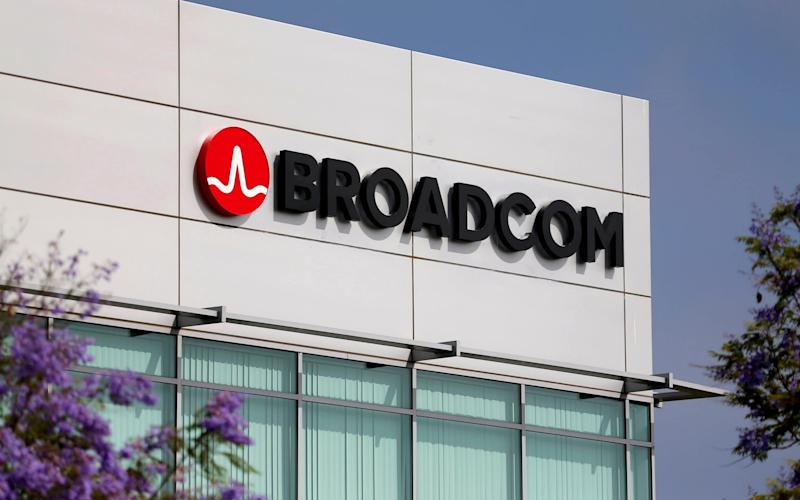 Broadcom is largely based in the US - REUTERS