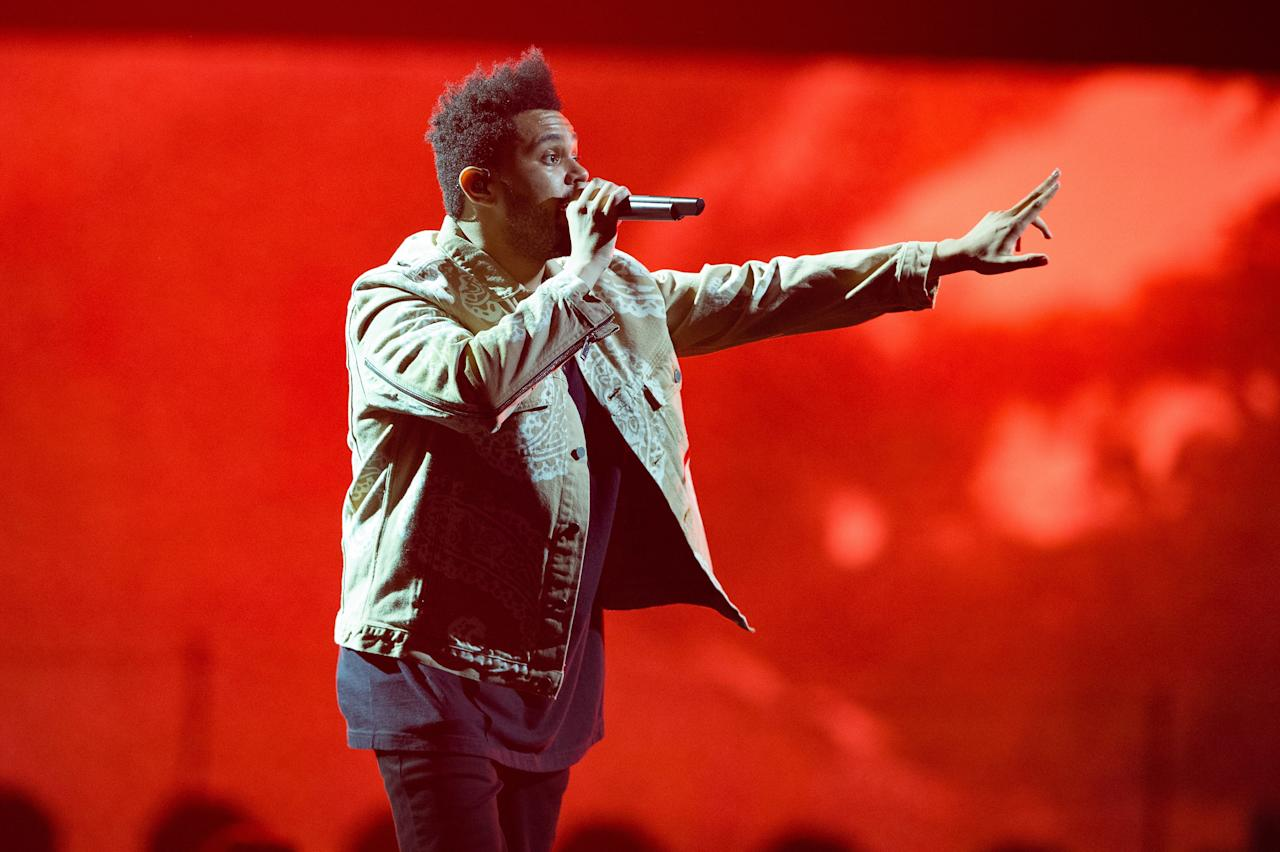 <p>Some haircuts take a little bit of breaking in. Maybe you're experimenting with the right mix of products, or tinkering with how often to get it cleaned up. This must be what's happening with the Weeknd's hair, because it's only looking better as the weekends go on.</p>