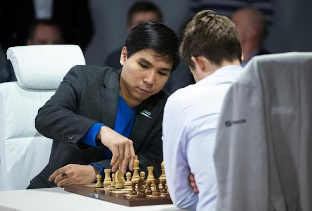 FILE PHOTO: World Fischer Random Chess Championship 2019