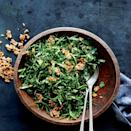 """When dressing hardy raw greens, it's good to be aggressive. Fortunately, we've got spicy ginger and seedy flavor bombs on hand. <a href=""""https://www.epicurious.com/recipes/food/views/collard-greens-salad-with-ginger-and-spicy-seed-brittle-56389371?mbid=synd_yahoo_rss"""" rel=""""nofollow noopener"""" target=""""_blank"""" data-ylk=""""slk:See recipe."""" class=""""link rapid-noclick-resp"""">See recipe.</a>"""