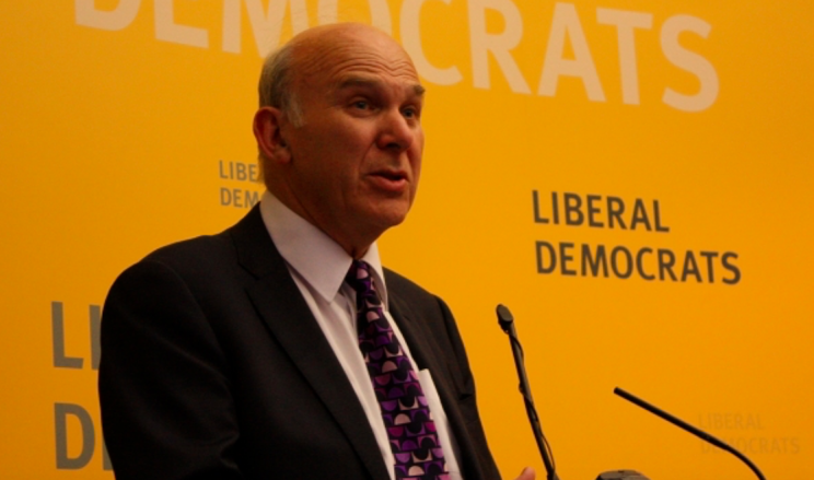 Lib Dem grandee Vince Cable thinks a new political party is possible after the election (Wikipedia)