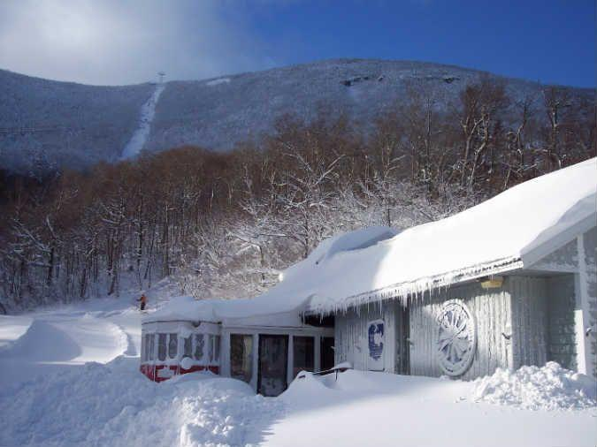 """<p><a href=""""http://newenglandskimuseum.org"""" rel=""""nofollow noopener"""" target=""""_blank"""" data-ylk=""""slk:New England Ski Museum"""" class=""""link rapid-noclick-resp"""">New England Ski Museum </a></p><p>Nestled in two locations in the White Mountains, the museum has a Franconia Notch and North Conway branch, both packed with info on the history of skiing.</p>"""