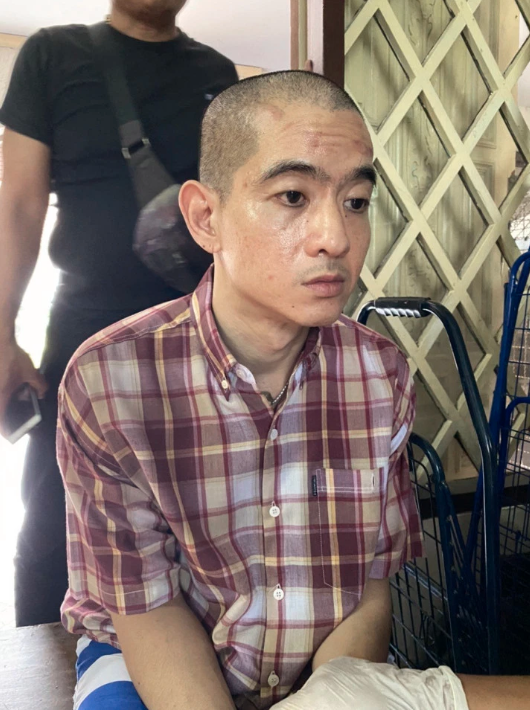 Pictured is Apichai Ongwisit, the wealthy property heir, whose father was also arrested in the 1980s for the murder of a teenage girl