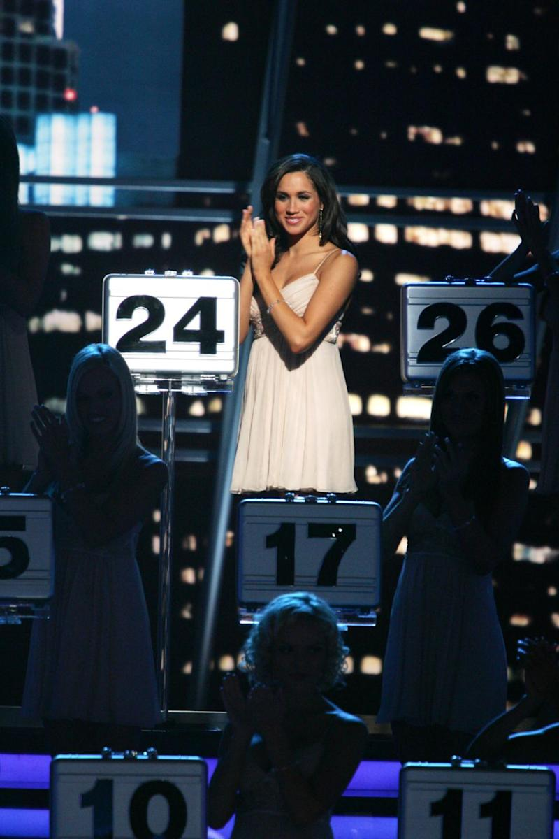 Her stint on the hit gameshow came five years before she landed the role of Rachel Zane in Suits. Photo: Getty Images