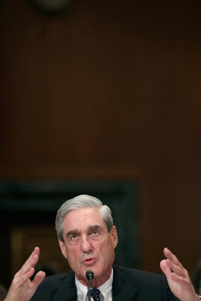 Robert Mueller: a patrician of Washington's legal bureaucracy, respected by both Democrats and Republicans (AFP Photo/CHIP SOMODEVILLA)