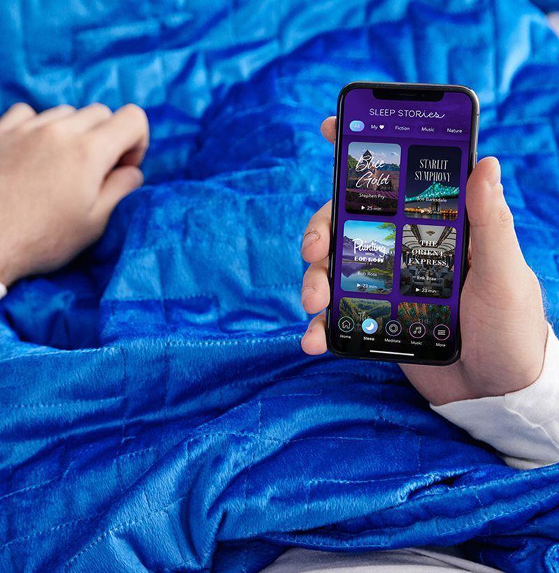 """<p><strong>Gravity x Calm</strong></p><p>gravityblankets.com</p><p><strong>$269.00</strong></p><p><a href=""""https://go.redirectingat.com?id=74968X1596630&url=https%3A%2F%2Fgravityblankets.com%2Fproducts%2Fgravity-calm-blanket&sref=https%3A%2F%2Fwww.esquire.com%2Flifestyle%2Fg2121%2Fmothers-day-gift-guide%2F"""" rel=""""nofollow noopener"""" target=""""_blank"""" data-ylk=""""slk:Buy"""" class=""""link rapid-noclick-resp"""">Buy</a></p><p>A weighted blanket <em>and</em> a subscription to the Calm meditation and wellness app? Mom will never be stressed again (hopefully). </p>"""