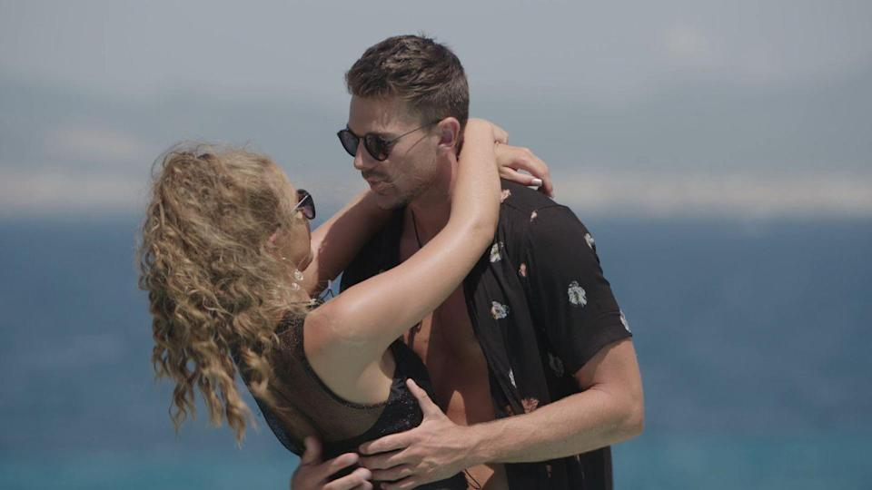 """<p><strong>Relationship status: <strong>Broken up / </strong>Mugged off</strong><br></p><p>Nooooooooo! After so many ups and downs in the villa, Sam and Georgia were beginning to prove the haters wrong after they became BF and GF on live TV and <a href=""""https://www.cosmopolitan.com/uk/entertainment/a22743643/love-island-georgia-sam-moved-in-together/"""" rel=""""nofollow noopener"""" target=""""_blank"""" data-ylk=""""slk:decided to move in together"""" class=""""link rapid-noclick-resp"""">decided to move in together</a>. </p><p>However, the couple were together for three months before Georgia was accused of being the opposite of loyal, after she apparently <a href=""""https://www.cosmopolitan.com/uk/entertainment/a23889380/love-island-georgia-steel-sam-bird-split-up-real-reason/"""" rel=""""nofollow noopener"""" target=""""_blank"""" data-ylk=""""slk:met up with her ex"""" class=""""link rapid-noclick-resp"""">met up with her ex</a>. So much dramz.</p>"""