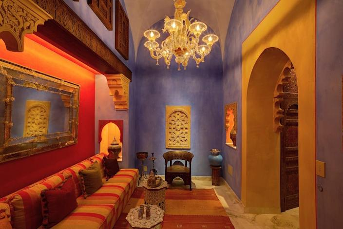 """<p>McLeod describes the hammam spa as """"an otherworldly place to recharge and rejuvenate."""" (Photo by Steve Brown/Sepia Productions)</p>"""