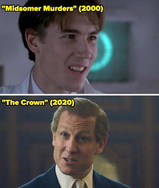 Then: He played Jack Dorset on an episode of Midsomer Murders.Now: He won the Emmy forOutstanding Supporting Actor in a Drama Series for his portrayal of Prince Philip on The Crown.
