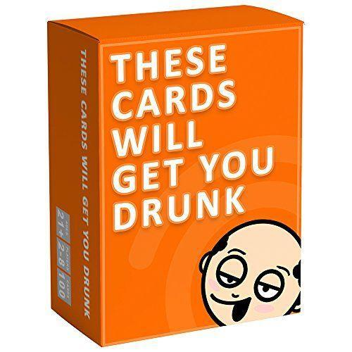 "<p><strong>These Cards Will Get You Drunk</strong></p><p>amazon.com</p><p><strong>$15.99</strong></p><p><a href=""https://www.amazon.com/dp/B073R59XYF?tag=syn-yahoo-20&ascsubtag=%5Bartid%7C10049.g.36054934%5Bsrc%7Cyahoo-us"" rel=""nofollow noopener"" target=""_blank"" data-ylk=""slk:SHOP NOW"" class=""link rapid-noclick-resp"">SHOP NOW</a></p><p>The rules are simple: Take turns picking a card and then do whatever it tells you to (which may or may not involve drinking).</p>"