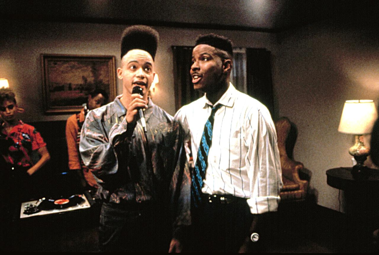 <p>Hip-hop duo Kid 'N Play stars in this cult classic as two high schoolers, one of whom is throwing a party while his parents are away, and another who is desperate to attend, even though his father forbids him from going. In addition to having incredible music, <strong>House Party</strong> made history by rejuvenating the classic teen party movie and putting Black actors in the starring roles. </p>