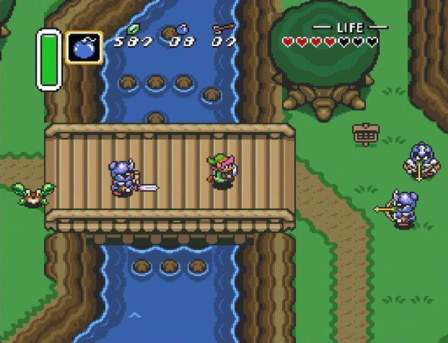 """Get ready to dive back into """"Zelda"""" on the SNES Classic."""