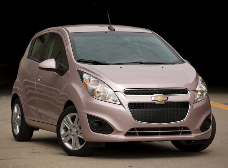 Chevy Spark looks electric but runs on gasoline