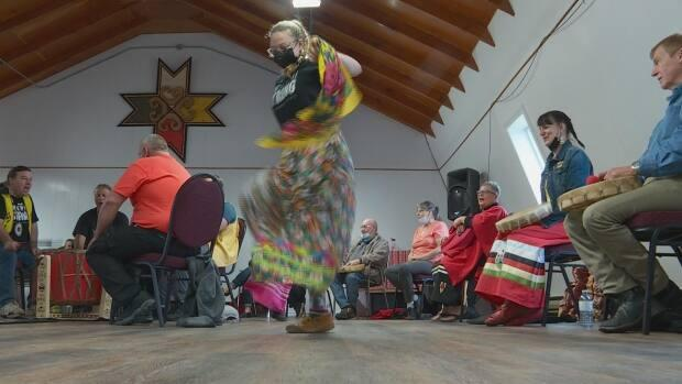 Sabrina Muise says dancing is a form of prayer for her. (Colleen Connors - image credit)