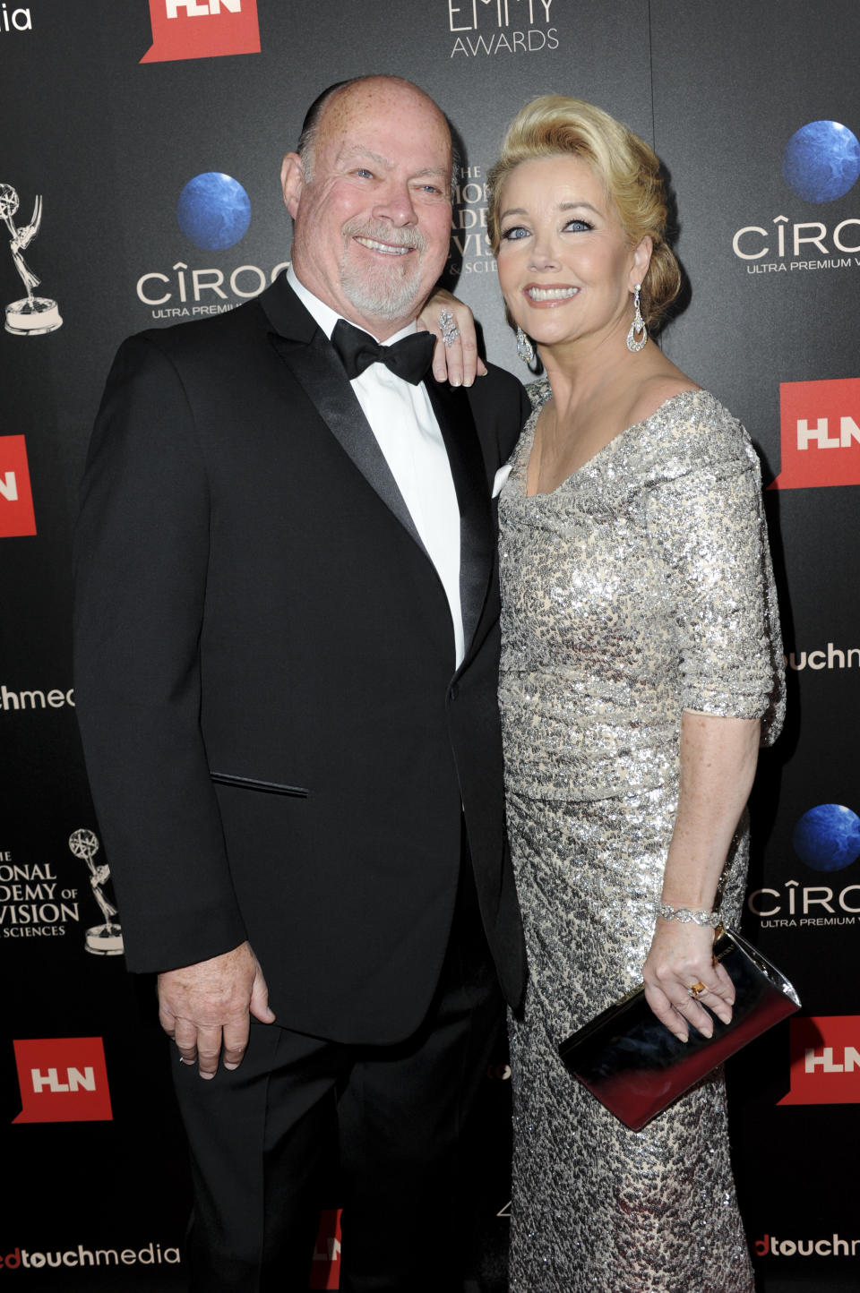 BEVERLY HILLS, CA - JUNE 16:  Ed Scott and actress Melody Thomas Scott attends 40th Annual Daytime Entertaimment Emmy Awards - Arrivals at The Beverly Hilton Hotel on June 16, 2013 in Beverly Hills, California.  (Photo by Allen Berezovsky/WireImage)