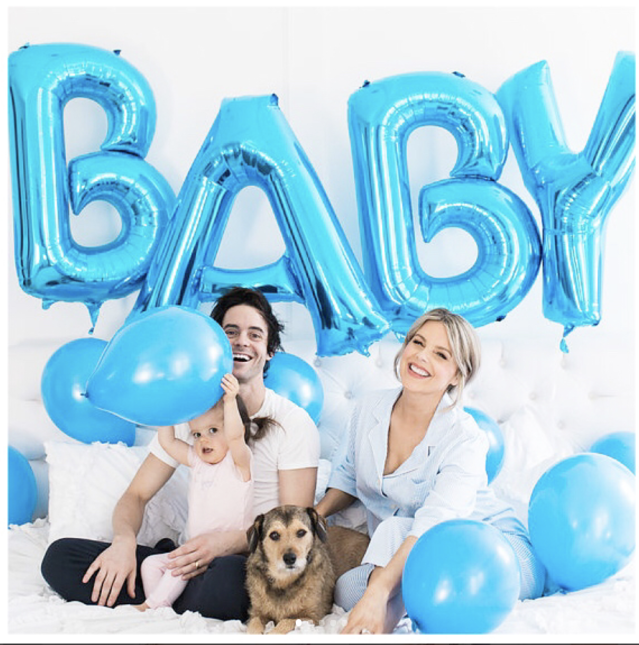 "<p>""Oh Boy! Kevin, Molly, Owen and I are so excited to share that we are expecting a little boy,"" the TV personality revealed to followers, with a photo filled with smiling faces and blue balloons. The fifth member of the family is expected sometime in May. (Photo: <a href=""https://www.instagram.com/p/BfwVAkJHK_3/?taken-by=alifedotowsky"" rel=""nofollow noopener"" target=""_blank"" data-ylk=""slk:Ali Fedotowsky-Manno via Instagram"" class=""link rapid-noclick-resp"">Ali Fedotowsky-Manno via Instagram</a>) </p>"