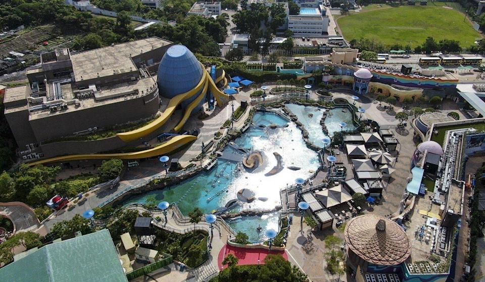 The theme park is currently closed. Photo: Martin Chan