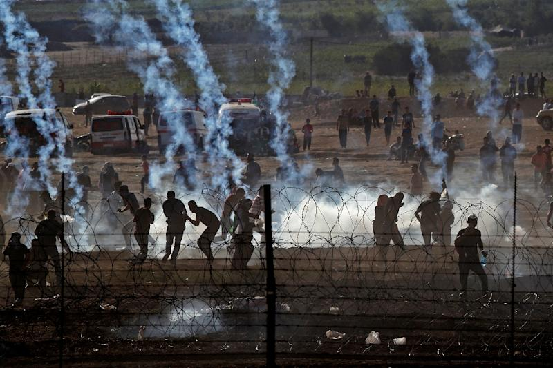 At least 129 Palestinians have been killed by Israeli fire since protests broke out along the Gaza border on March 30
