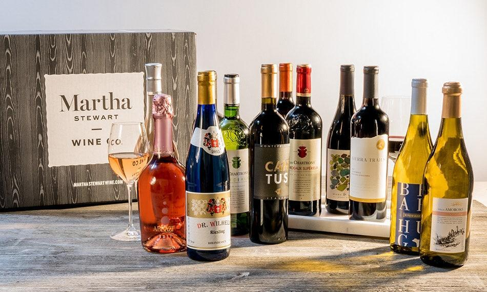 """We all have a vino we love, including <a href=""""https://www.glamour.com/about/martha-stewart?mbid=synd_yahoo_rss"""" rel=""""nofollow noopener"""" target=""""_blank"""" data-ylk=""""slk:Martha Stewart"""" class=""""link rapid-noclick-resp"""">Martha Stewart</a>. Get a taste of what it's like to <em>cin-cin</em> like the lifestyle guru by signing up for her wine club. Choose between six bottles every six weeks or 12 bottles every eight weeks and trust that the team will ship you (for free!) a curation of red, white, or both bottles. According to the website, the half case is ideal for three of our current main pastimes: <a href=""""https://www.glamour.com/gallery/easy-pasta-recipes?mbid=synd_yahoo_rss"""" rel=""""nofollow noopener"""" target=""""_blank"""" data-ylk=""""slk:dining in"""" class=""""link rapid-noclick-resp"""">dining in</a>, <a href=""""https://www.glamour.com/story/watch-this-march-29-2020?mbid=synd_yahoo_rss"""" rel=""""nofollow noopener"""" target=""""_blank"""" data-ylk=""""slk:watching movies,"""" class=""""link rapid-noclick-resp"""">watching movies,</a> and planning semi-elaborate <a href=""""https://www.glamour.com/gallery/virtual-first-date-outfits?mbid=synd_yahoo_rss"""" rel=""""nofollow noopener"""" target=""""_blank"""" data-ylk=""""slk:romantic evenings in"""" class=""""link rapid-noclick-resp"""">romantic evenings in</a>. $89, Martha Stewart Wine Co.. <a href=""""https://marthastewartwine.com/promos/AFF-MSWCASECLUB-8988-MAR20"""" rel=""""nofollow noopener"""" target=""""_blank"""" data-ylk=""""slk:Get it now!"""" class=""""link rapid-noclick-resp"""">Get it now!</a>"""