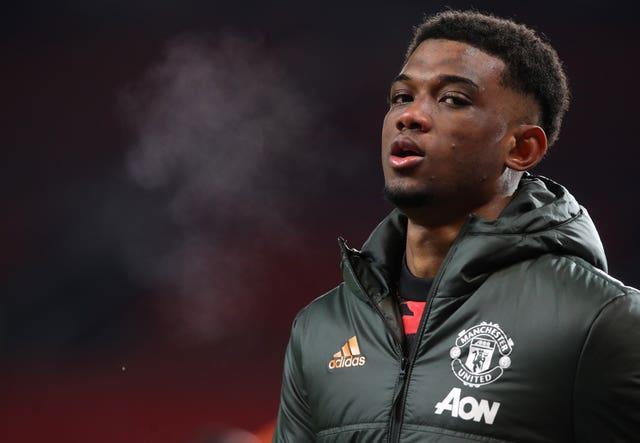 Amad Diallo was an unused substitute as Manchester United beat West Ham in the FA Cup fifth round on Tuesday