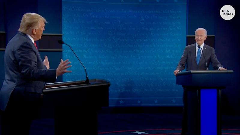 Presidential debate: Trump and Biden point fingers about taking money from China and Russia