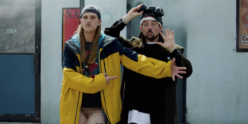 Everyone's going to Hollywood in the first trailer for Jay and Silent Bob Reboot: Watch