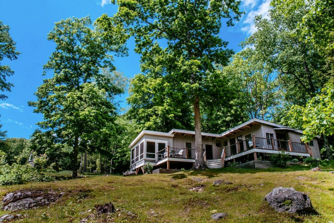 <p>If you're a fan of farmhouse ales then look no further. This three-bedroom home on Oxbow Brewing Company's 18-acre property in Newcastle, Maine, can be all yours for $359 a night. <br />(Airbnb) </p>
