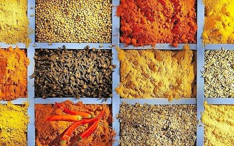 Spices - Credit: Alamy