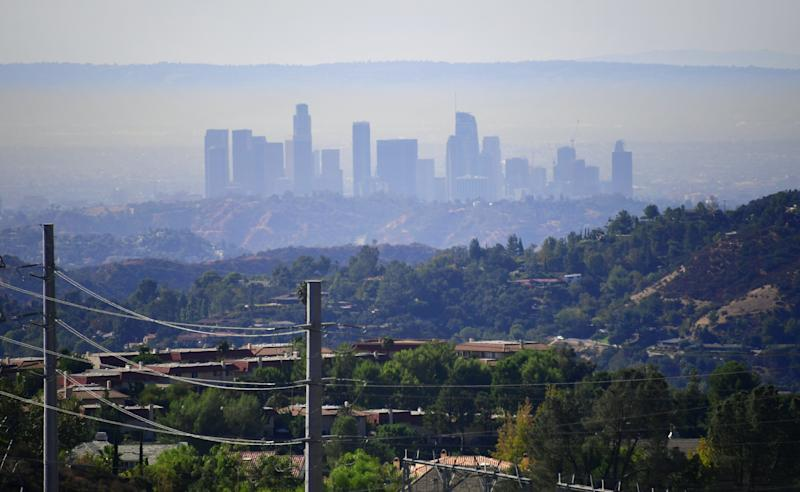 Air pollution in Los Angeles has gotten worse in the last couple of years.