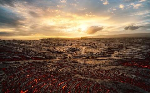 The volcano national park is one of the island's key draws - Credit: Getty