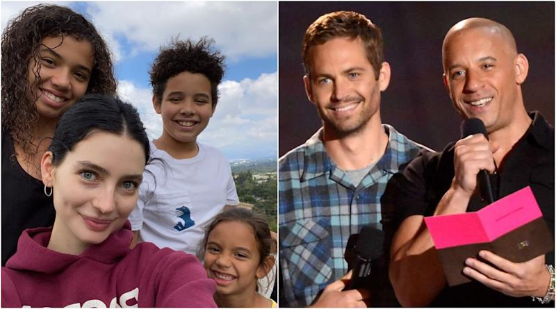 Late Paul Walker's Daughter Meadow Poses With Vin Diesel's Kids In An Adorable 'Family' Photo