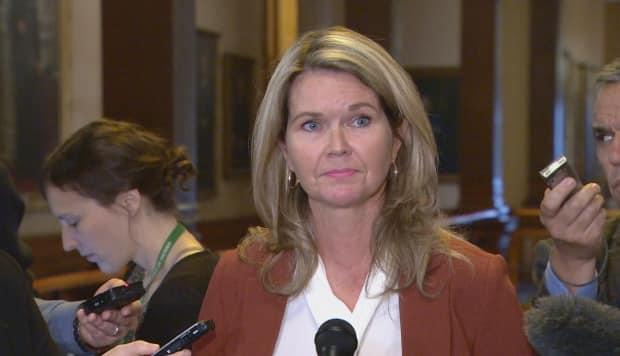 Ontario's AssociateMinisterof Children and Women's Issues Jill Dunlop announced the release of the province's response to the MMIWG national inquiry Thursday.  (CBC - image credit)