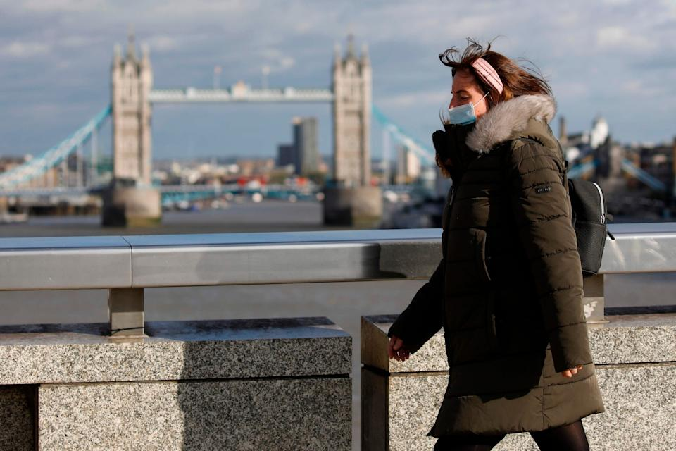 London is on Public Health England's watchlist: AFP via Getty Images