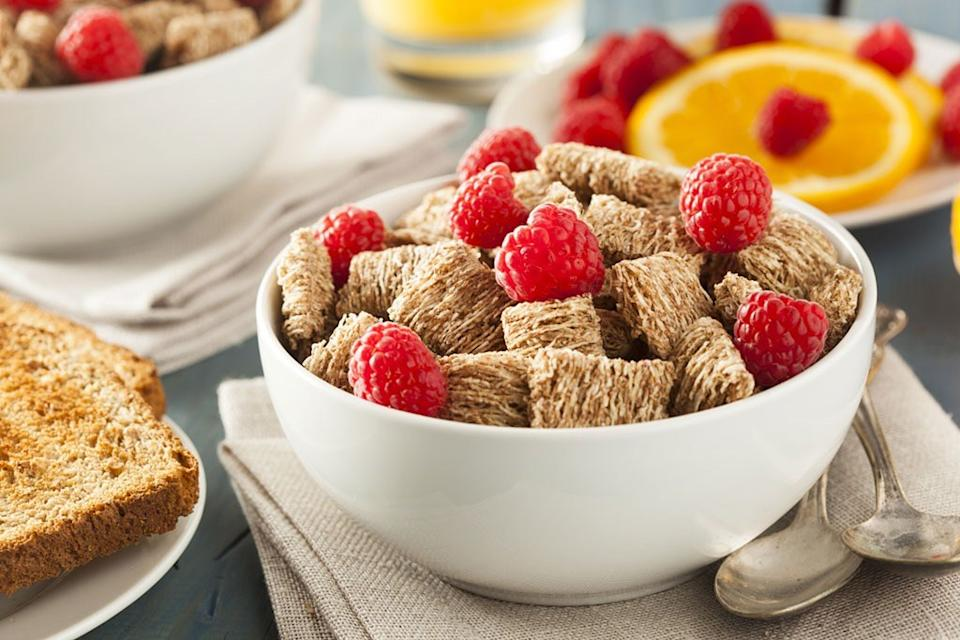 shredded wheat cereal