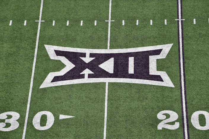 The Big 12 announced its scheduling plans for the 2020 football season on Monday. (Peter G. Aiken/Getty Images)