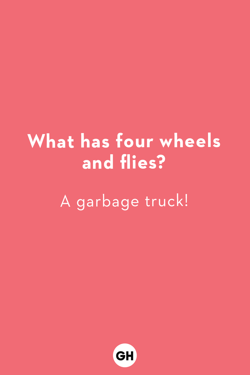 <p>A garbage truck!</p>