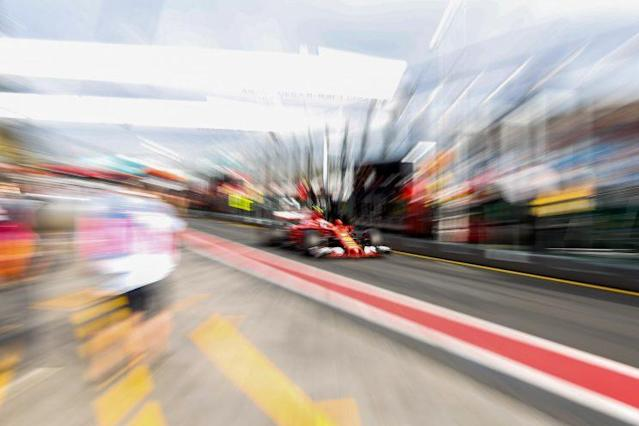 Pretty fast: F1's 2017 cars are faster, fatter and fantastic looking … Kimi Raikkonen's Ferrari is a particularly pleasing example