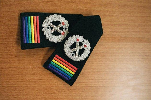 Some police forces are making efforts to increase LGBT+ representation.
