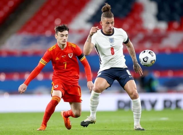 Dylan Levitt played for Wales against England at Wembley in October